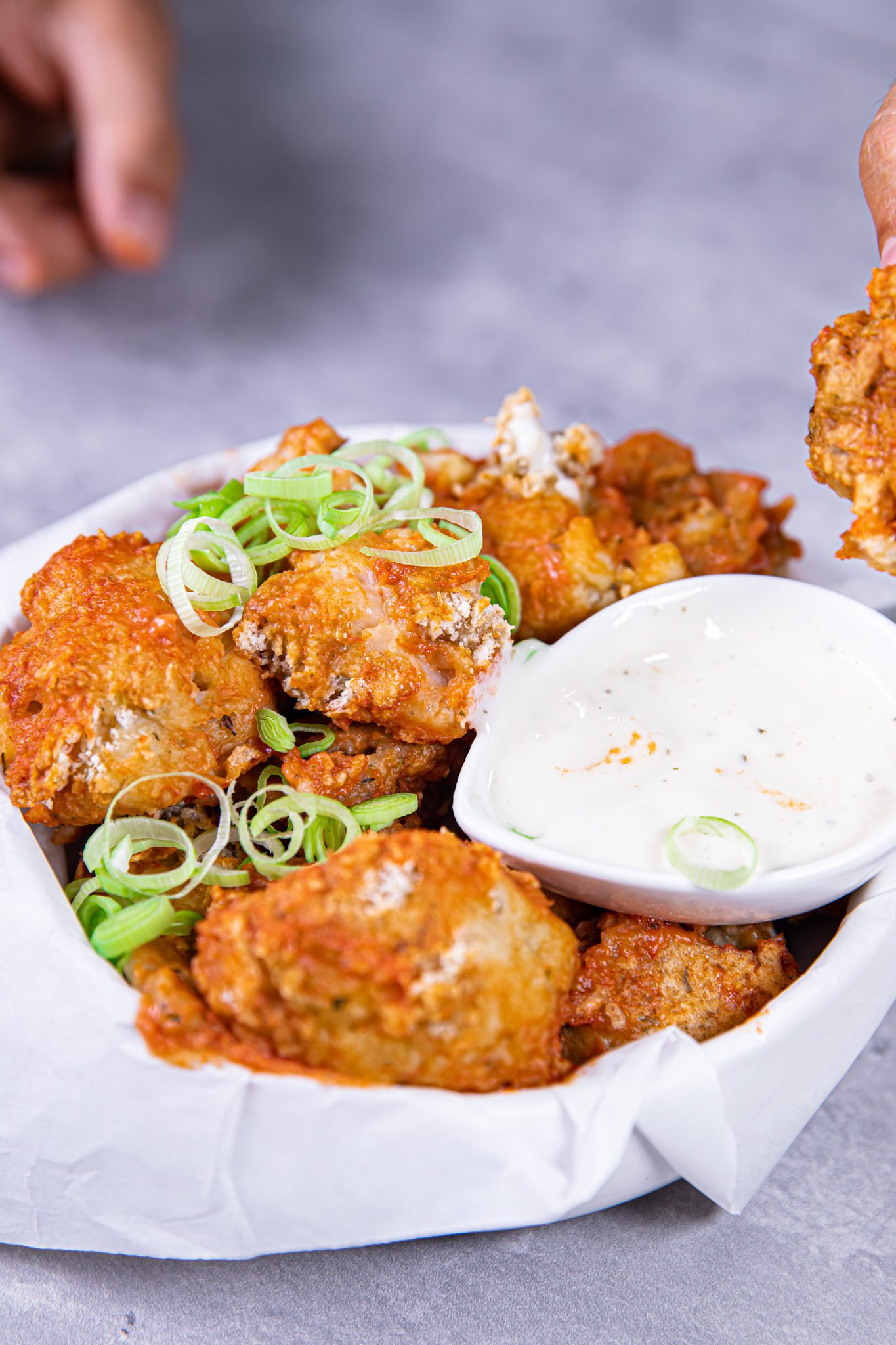 cauliflower wings