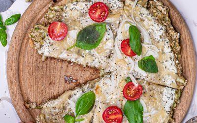 Low calorie pizza crust