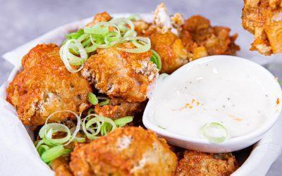 vegan bbq cauliflower wings