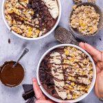 cauliflower chocolate bowl