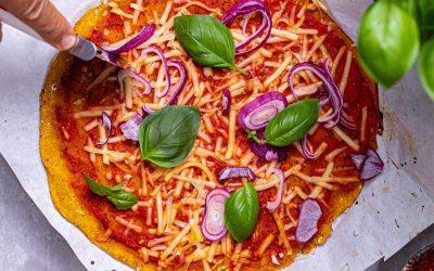 Pumpkin pizza crust
