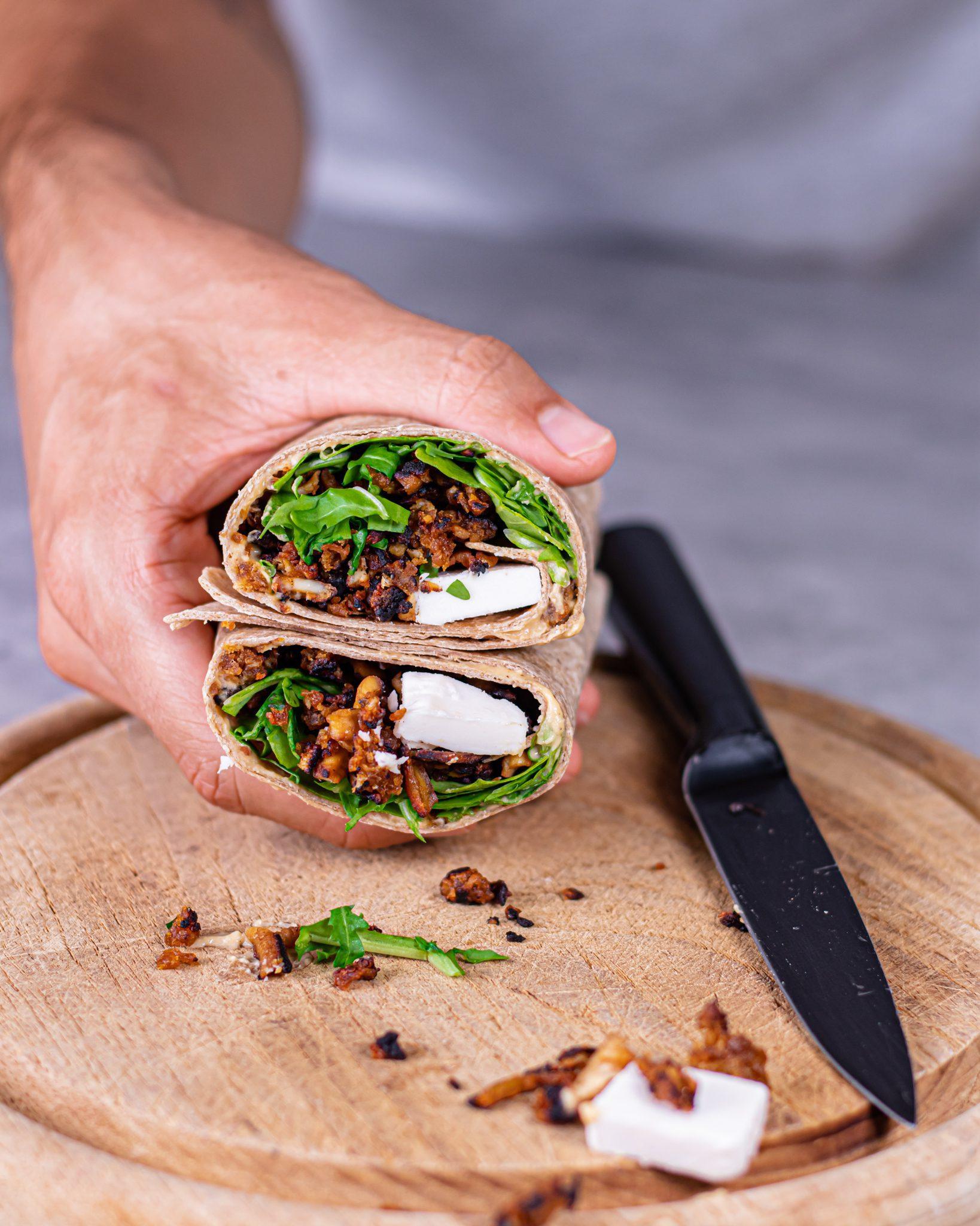 vegan wraps high protein